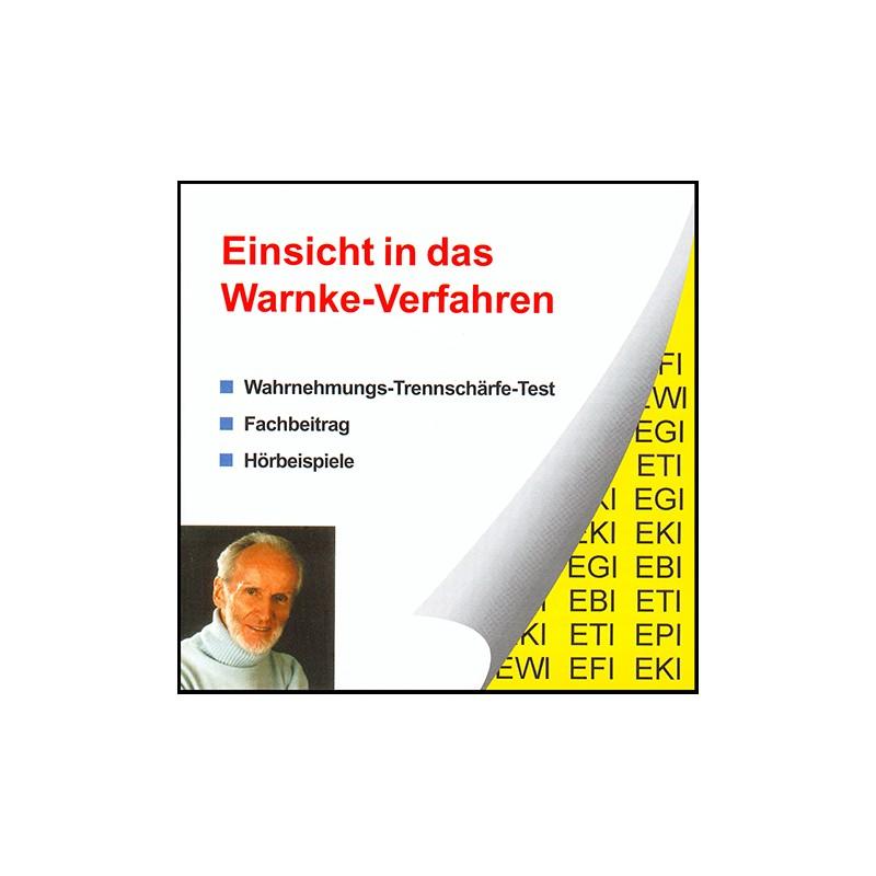 Einsicht in das Warnke-Verfahren (CD)